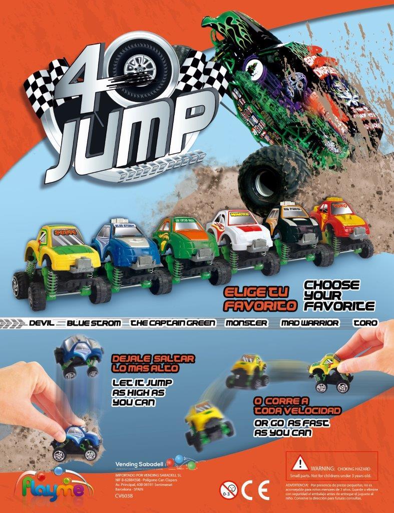 4 Wheels Jump