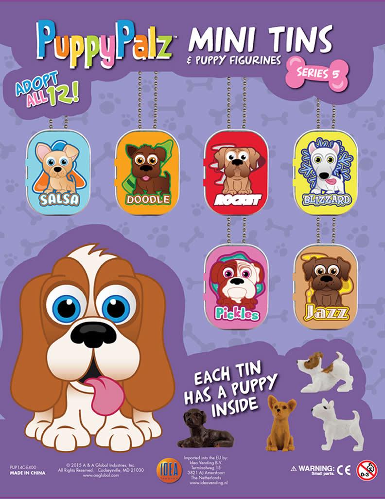 Puppy Palz Tins serie 5