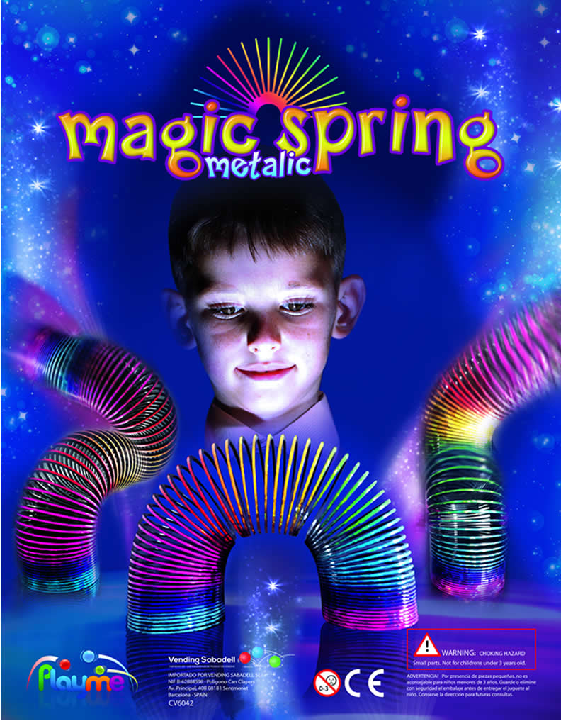 Magic Metal Spring