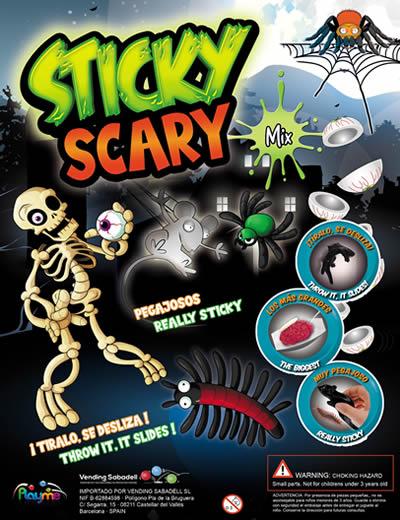 Scary Sticky Mix
