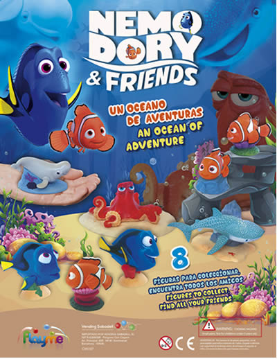 Nemo, Dory and Friends
