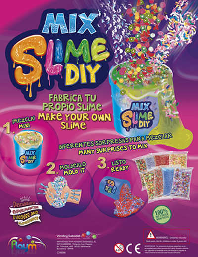 Mix Diy Slime