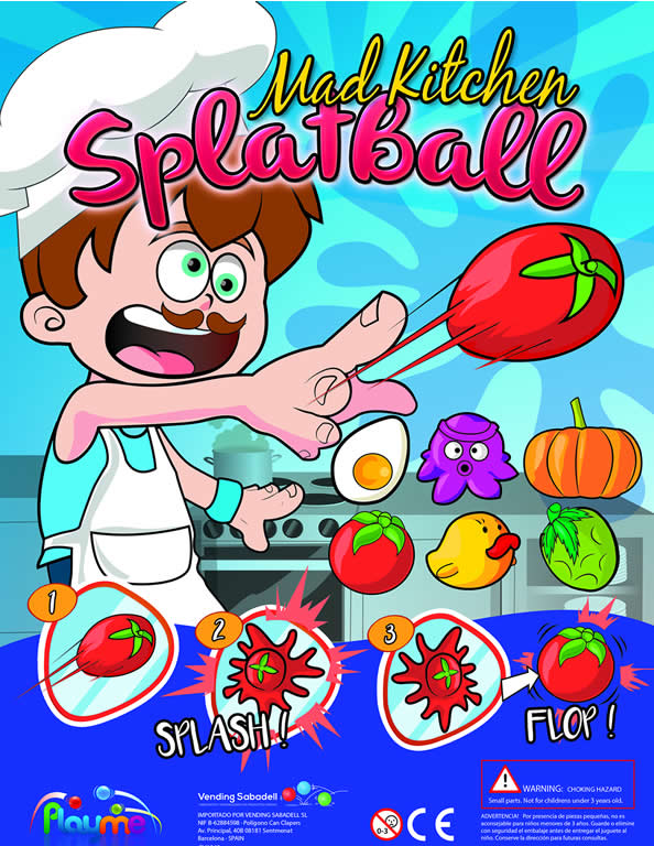 Splat Ball Kitchen