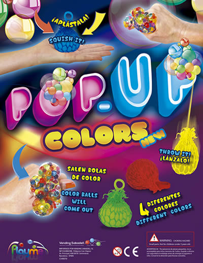 Pop Up Colors Balls