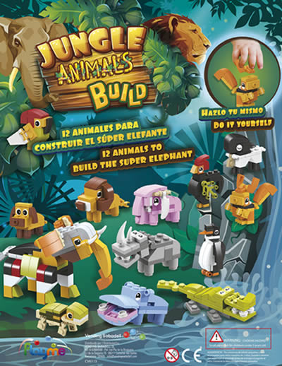 Jungle Animals Build