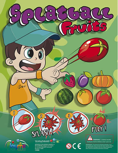 SplatBall Fruits