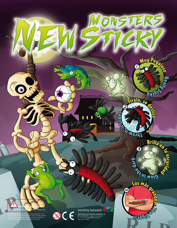 STICKY MONSTER NEW