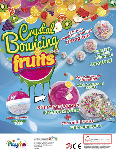 Crystal Bouncing Fruits
